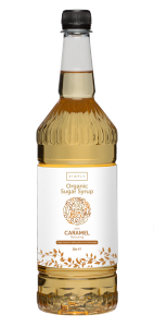 Simply Caramel ORGANIC Coffee Syrup - 1 Litre